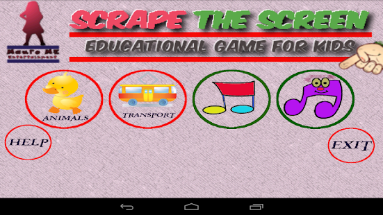 Scratch the ScreeN kids Free - screenshot thumbnail