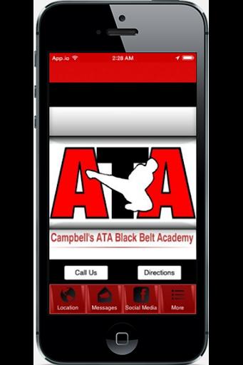 Campbells ATA Black Belt