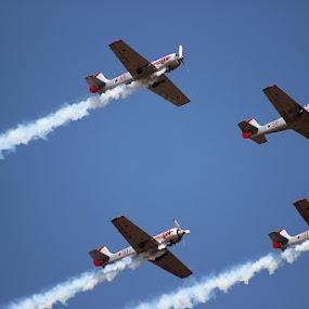 Air show - Bangalore by Guru Prasad - Transportation Airplanes ( flight, airplanes, aircraft, air show, airshow,  )