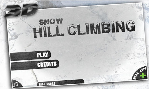 Snow Hill Climbing