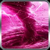 Pink Tornado Live Wallpaper