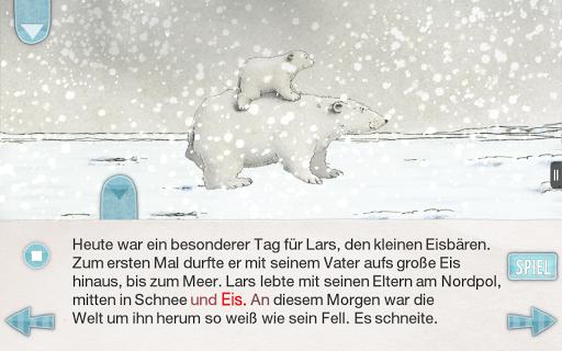 Kleiner Eisbär Aplicaciones para Android screenshot