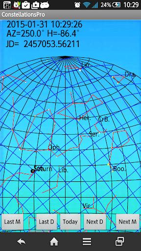 Constellations Calendar Pro