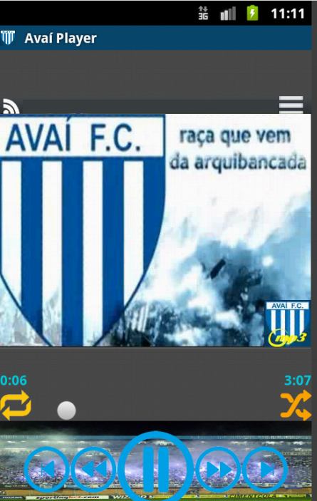 Avaí Player - screenshot