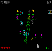 MiniSpaceWar w/Vector