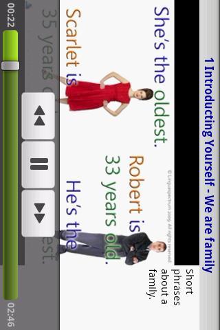 Learn English by Video Free- screenshot