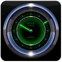 Laser Clock Widget RADAR icon