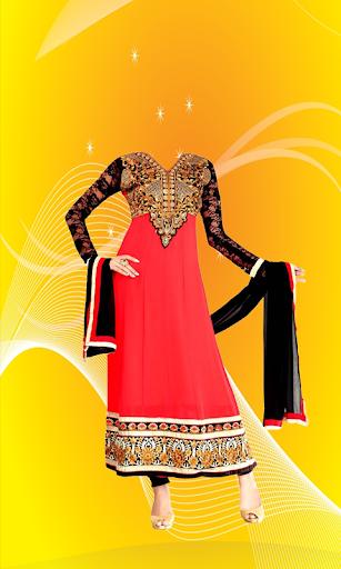 Anarkali Dress Photo Suit