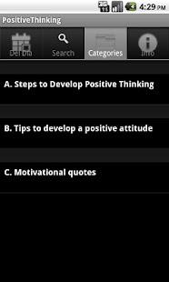 Positive Thinking. The Key to- screenshot thumbnail