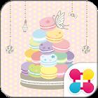 Cute Wallpaper Sweet Macaron icon