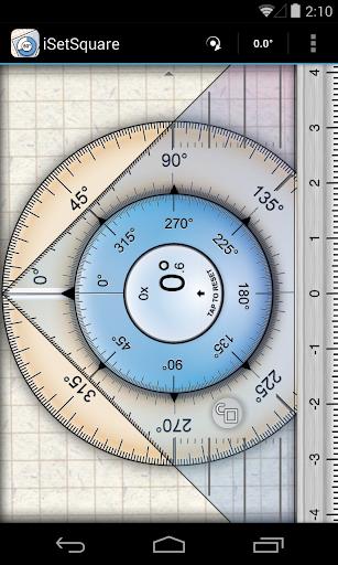 iSetSquare Geometry angle