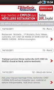 LHR Emploi - screenshot thumbnail