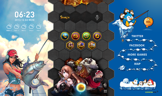 Gamevill 主題包 : Buzz桌面