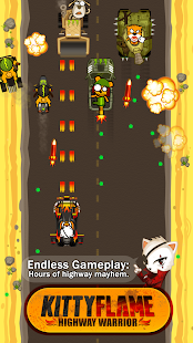 Kitty Flame: Highway Warrior- screenshot thumbnail