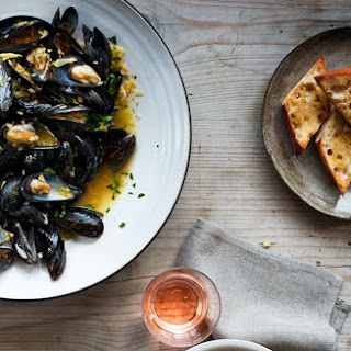 Bouillabaisse with Rouille and Garlic Toasts