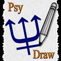 Psy Draw test icon