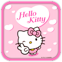 Hello Kitty Pink Heart Theme logo