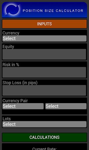 【免費財經App】Position Size Calculator-APP點子