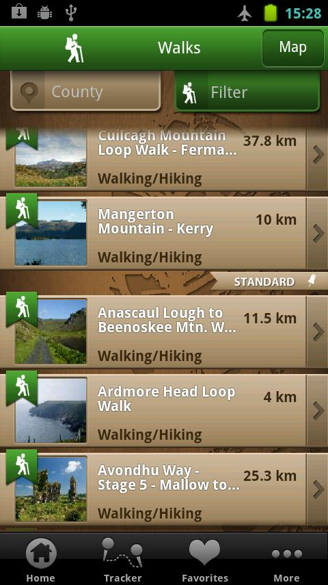 ActiveME Ireland Travel Guide- screenshot