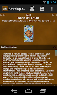 Tarot Divinations Pro- screenshot thumbnail