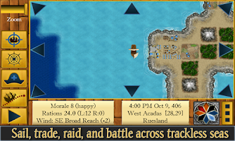 Screenshot of Age of Pirates RPG