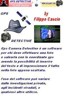 gps camera detective - screenshot thumbnail