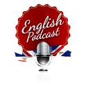 English Podcast logo