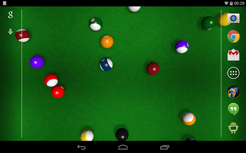 KF Billiards Live Wallpaper - screenshot thumbnail