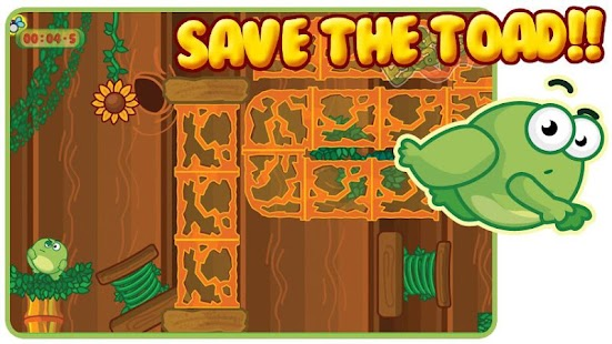 Toad Escape Free Platform Game - screenshot thumbnail