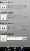 Screenshot of Dummy Card Games Scorer