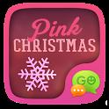 GO SMS PINK CHRISTMAS THEME icon