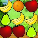 Explosion of fruits - free icon