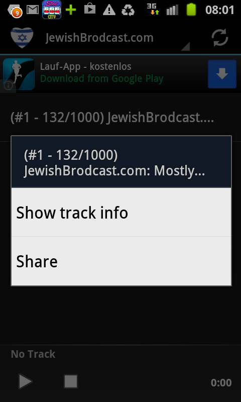 Hebrew & Jewish Radio Stations- screenshot