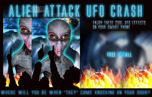 Alien Attack UFO Crash LWP