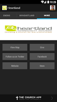 Screenshot of Heartland Community Church