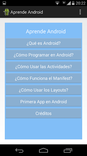 Aprende Android