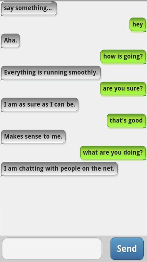 ChattyBot - Free ChatBot - screenshot