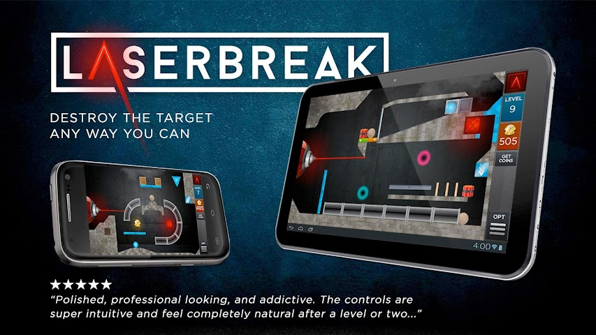 android Laserbreak Lite Screenshot 0