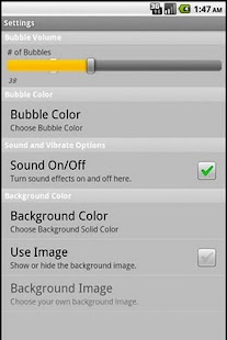 Bubbles on LWP- screenshot thumbnail