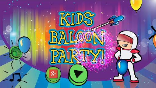 Kids Balloon Party - Ad Free