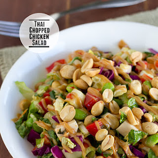 Thai Chopped Chicken Salad.