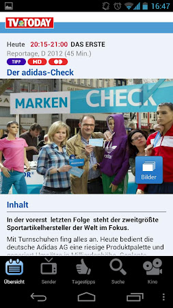 TV Today - TV Programm 1.5.2 screenshot 334449