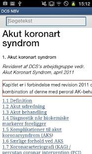 Dansk Cardiologisk Selskab NBV- screenshot thumbnail