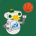 Oregon Football & Basketball logo