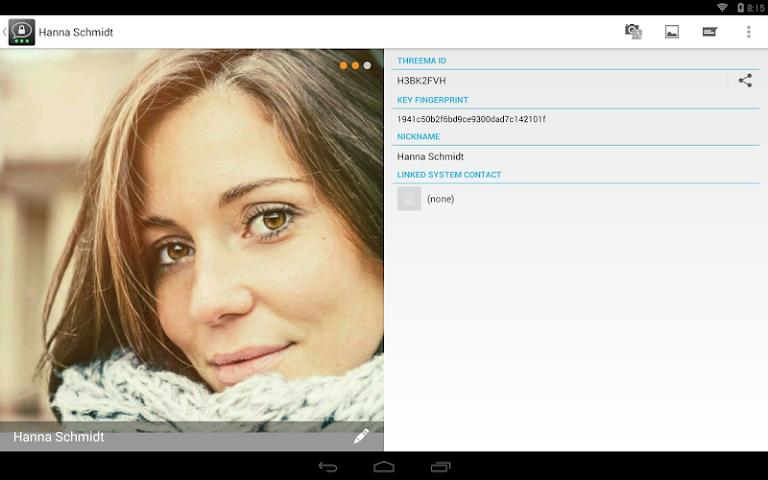 android Threema Screenshot 0