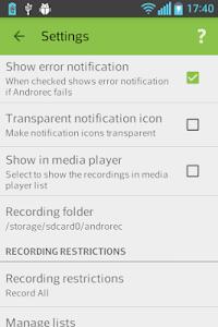 Androrec+ v1.11