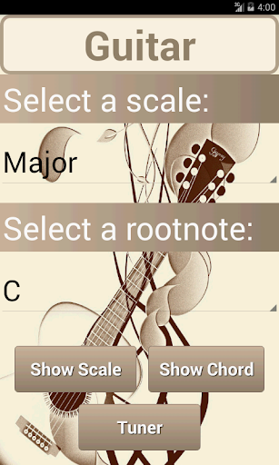 Scales Chords: Guitar PRO