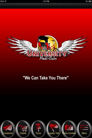 University Pedi Cabs
