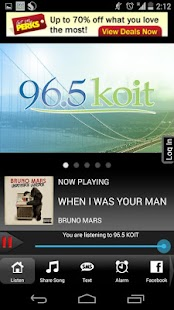 96.5 KOIT- screenshot thumbnail