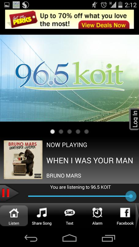 96.5 KOIT- screenshot